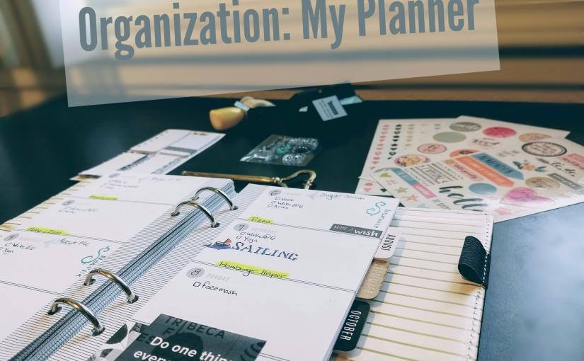 Organization: My Planner